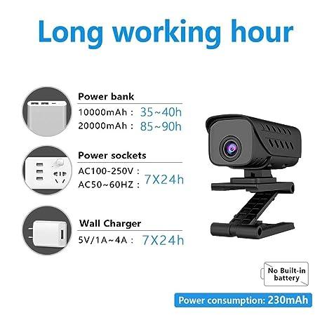 xiliary Cámara inalámbrica WiFi, cámara de vigilancia ...