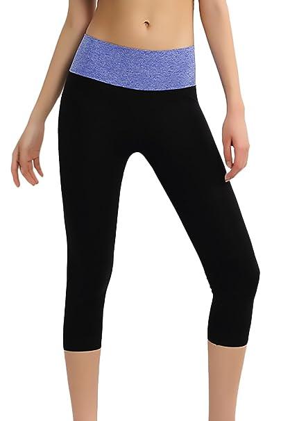 Leggins Mujer Deportivos Pantalones Deporte Fitness Cintura ...
