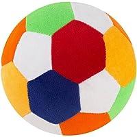 O Teddy Stuffed Soft Toy Plush Ball for Kids, 17cm (Multicolour)