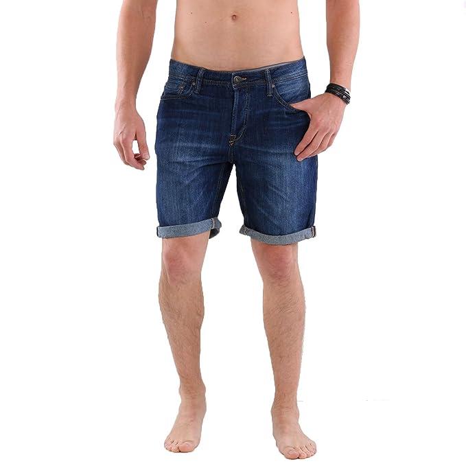 JACK   JONES Herren Regular Denim Jeans Shorts Rick Original Blue NZ 013  Größe XS  Amazon.de  Bekleidung a9a9ec065e