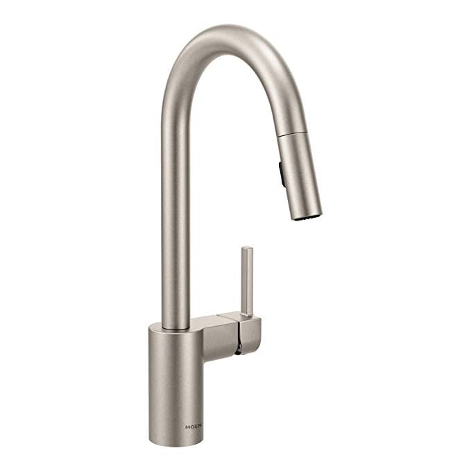 Moen 7565srs: Moen 7565SRS Align One-Handle High-Arc Pulldown Kitchen Faucet