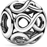 Pandora Women's Infinite Shine Charm - 925 Sterling Silver, 791872