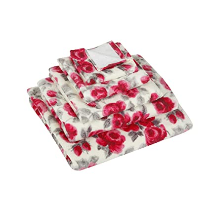 Cath Kidston pintado rosa toalla de baño