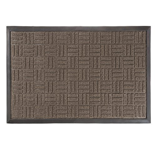 Cheap  Door Mat Indoor/Outdoor Welcome Mat- Nonslip Rubber with Low Profile Modern Parquet..