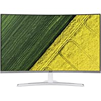 Acer 31.5 Widescreen LCD Monitor Display Full HD 1920 x 1080 4 ms VA Tech|ED322Q widx (Certified Refurbished)