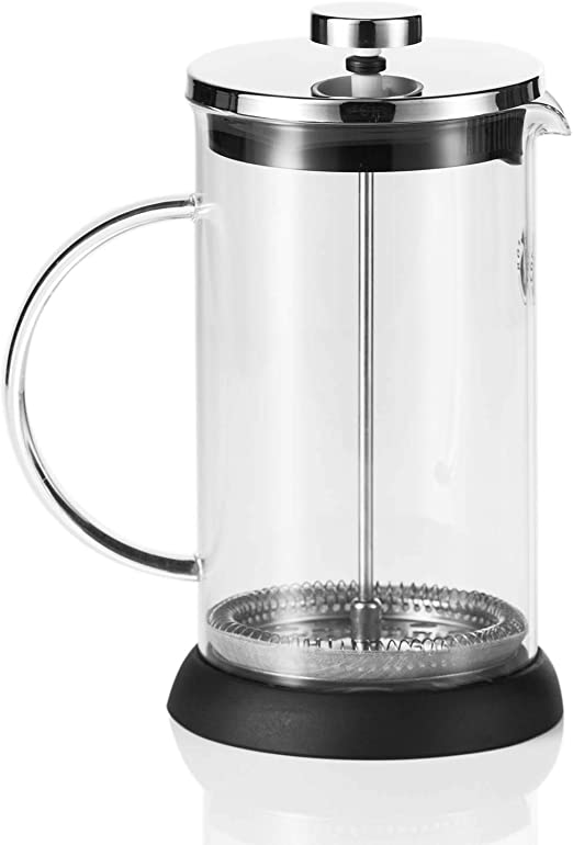 Coffee Fox French Press - Cafetera de goteo (1 L, apta para ...