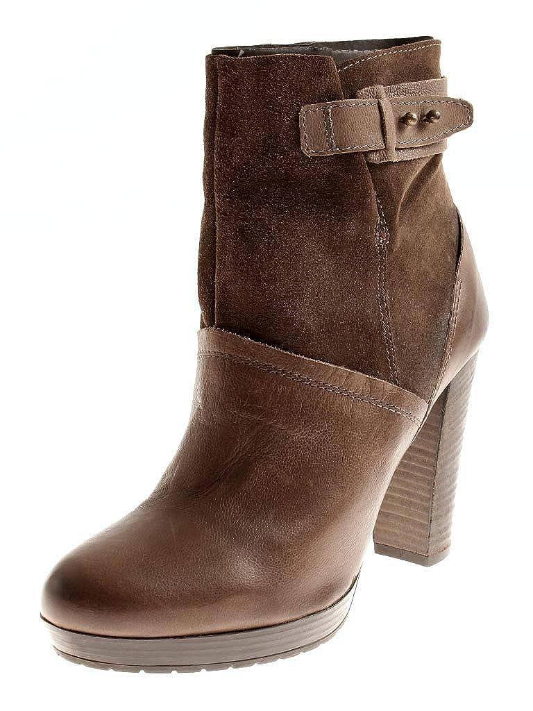 sports shoes 4fb7c 1fa7a Isabelle Lederstiefelette Stiefeletten braun 6043 Business ...