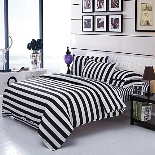 Reversible 3 Pieces Full/Queen Size Duvet Cover Set