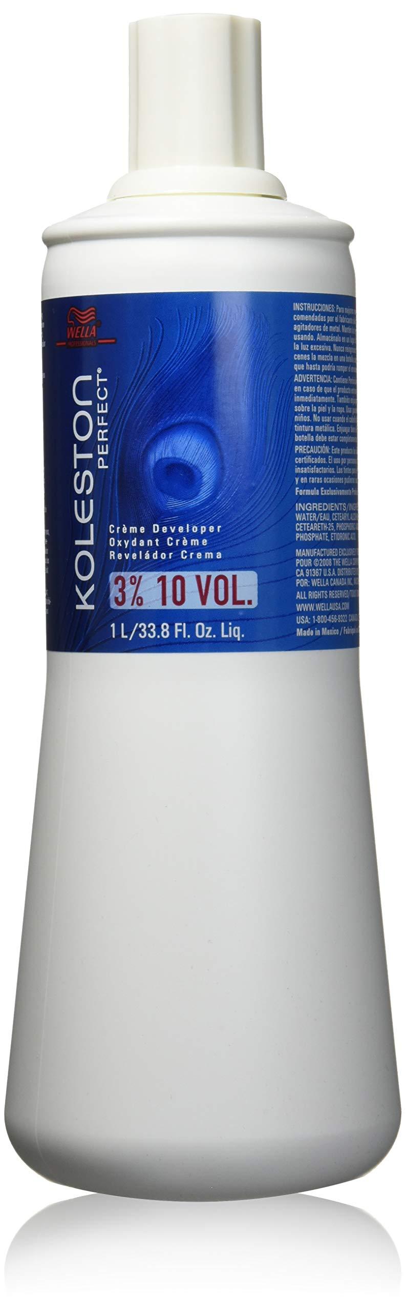 Wella Koleston Perfect 3 Percent Creme Developer, 33.8 Ounce by Wella