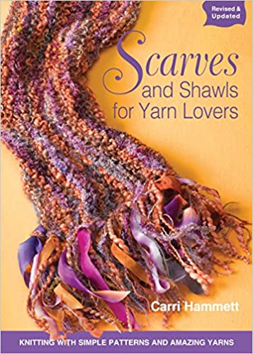 Scarves And Shawls For Yarn Lovers Knitting With Simple Patterns
