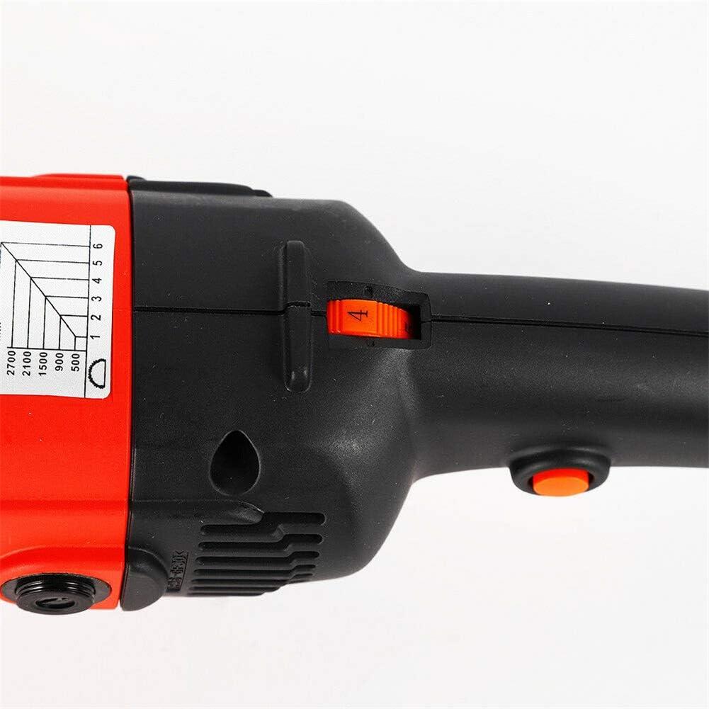 Kaibrite 1400W Poliermaschine Ger/äte Auto Polierer Set Schleifmaschine mit stufenloser Drehzahlregelung und Zubeh/ör 0-3000U//min 230V