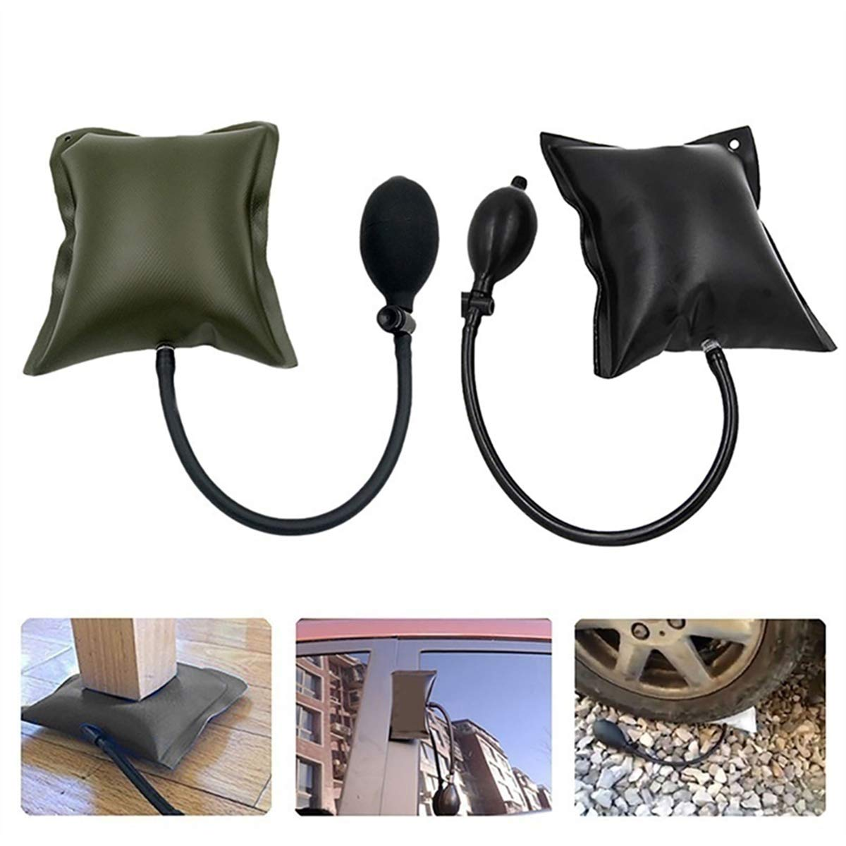 Winter Dong Auto Air Wedge Pump Alignment Tool Inflatable Shim Pry Bar Kits and Leveling Tool for Auto Repair Home Universal Use