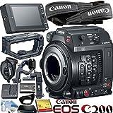 Canon EOS C200 EF Cinema Camera Bundle