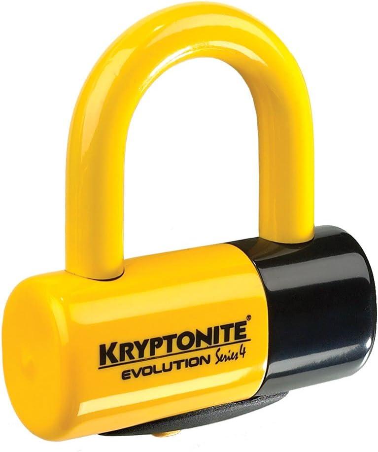 Yellow//Black Kryptonite 0720018998457 Bloccadisco New York Liberty Taglia Unica