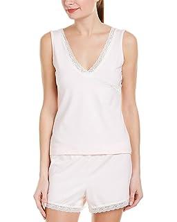 Womens Ginger Night Sweat Relief Pajama Camisole Tank Top Sleepwear Moisture Control Shirt
