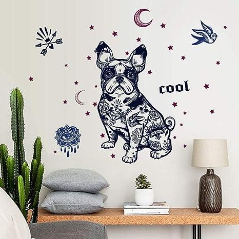 XCGZ Pegatinas de pared Etiqueta engomada Azul de la decoración ...