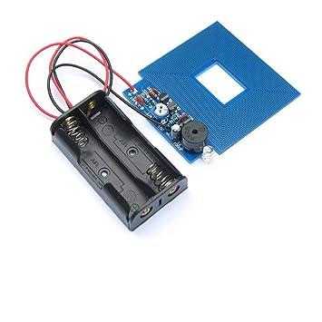 Kit de Kits de Bricolaje Detector de Metales Simple Sensor de Metal localizador de Metal 3V - 5V DC DIY Suite de producción electrónica: Amazon.es: ...