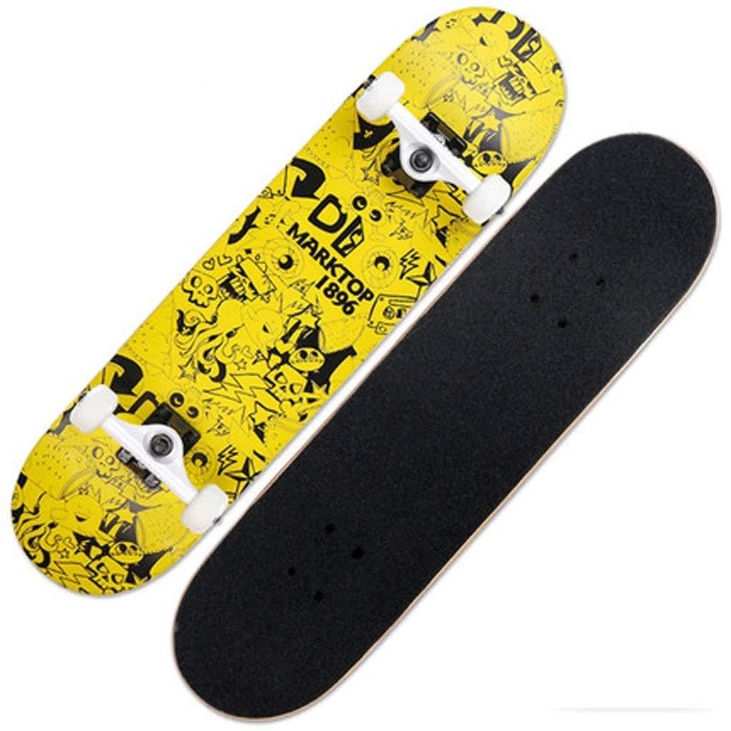 公式の  スケートボードカナダプロフェッショナルスケートボード四輪スクーターダブルアップスケートボードアダルトスキルスケートボード いえろ゜ いえろ゜ (色 : Free) B07KTX8QQD イエロー いえろ゜ イエロー イエロー いえろ゜, 塩原町:b7a12e40 --- a0267596.xsph.ru