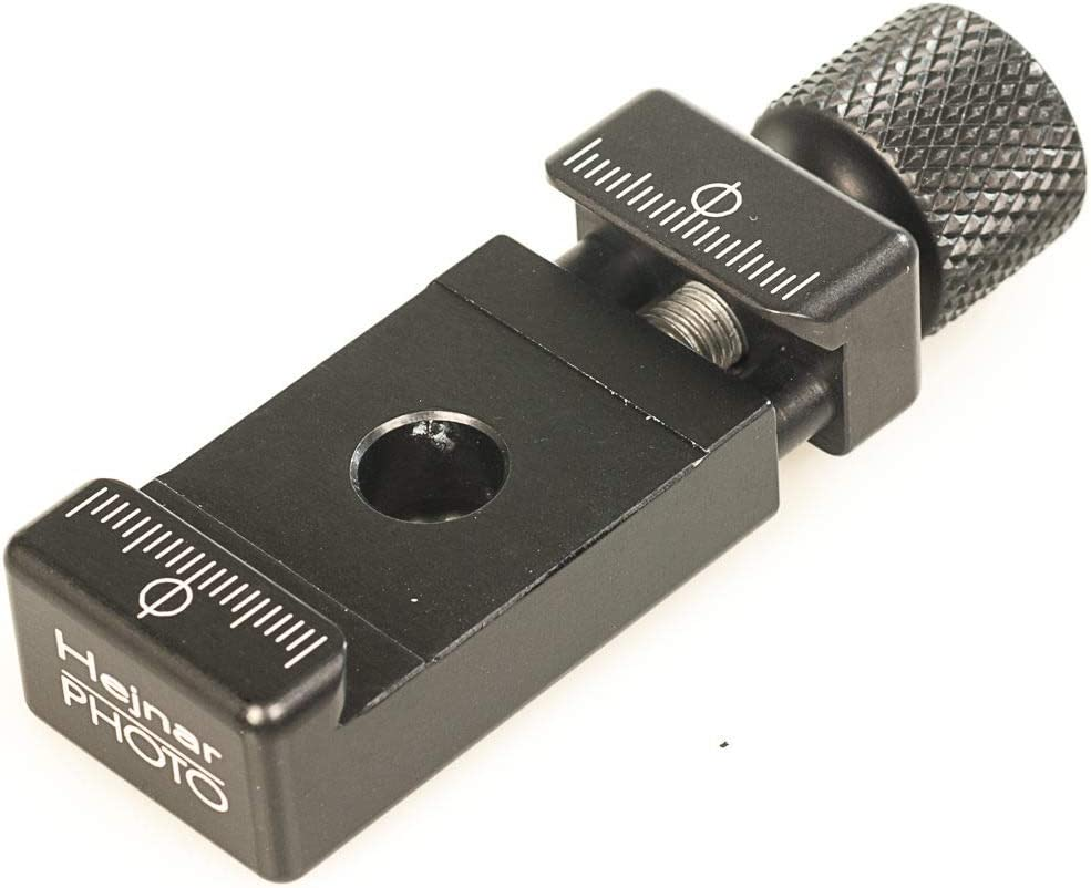 Socket Made in U.S.A Hejnar Photo 1 inch jaw Length clamp with QD Quick Detach