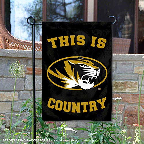 (College Flags and Banners Co. Missouri Tigers This is Mizzou Country Garden Flag )