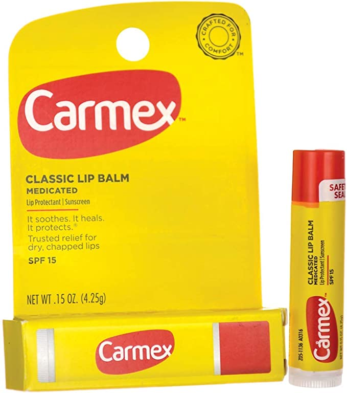 Carmex Original Lip Balm - Spf 15 0.15 oz (4.25 grams) Balm by Carmex: Amazon.es: Belleza