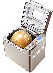 Bread Machine Mix Flour, Automatic Breadmaker Home Intelligent Bread Machine Maker Roaster DIY Milk Shake Jam Yogurt Cake Maker Household