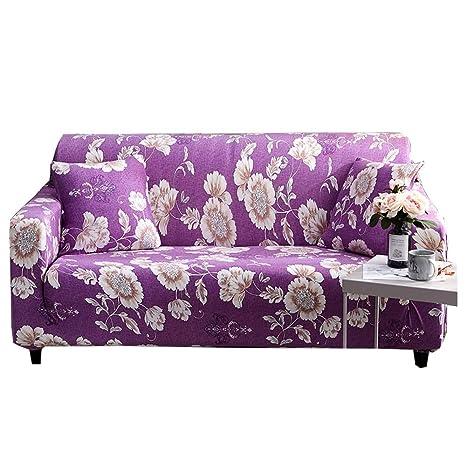 CHYOOO Funda De Sofa Sofá De Protección con Estampado De ...