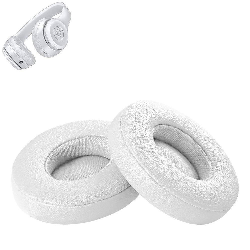 Almohadillas Foam Repuesto Para Beats Solo 2/3 Blanco