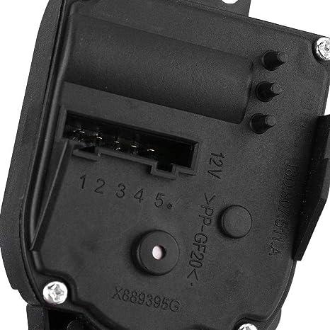 Motor de control Actuador est/ándar Aire acondicionado Calentador Servo Control Motor Durable para A3 TT Roadster 1J1907511A