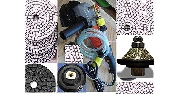 Business & Industrial Wet Polisher 3/8 10mm Bevel Bullnose E10 Router Polishing Pad DAMO Buff Granite Marble, Tile & Stone
