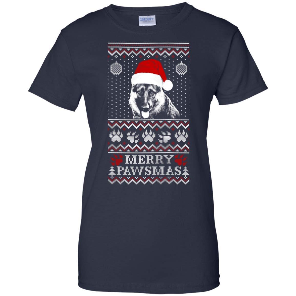Sweater For German Shepherd Lover Merry Pawsma Rottweiler Dog Lovers Gift T Shirt 5220