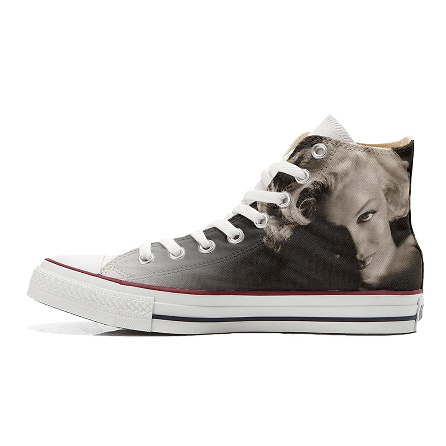 Make Your Shoes Converse Customized Adulte - chaussures coutume (produit artisanal) Chick Paysley size 38 EU uC98BDou5