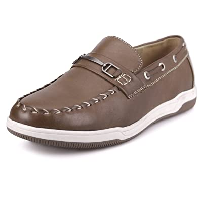 Front Buckle Point Casual Loafer Shoes Bm117
