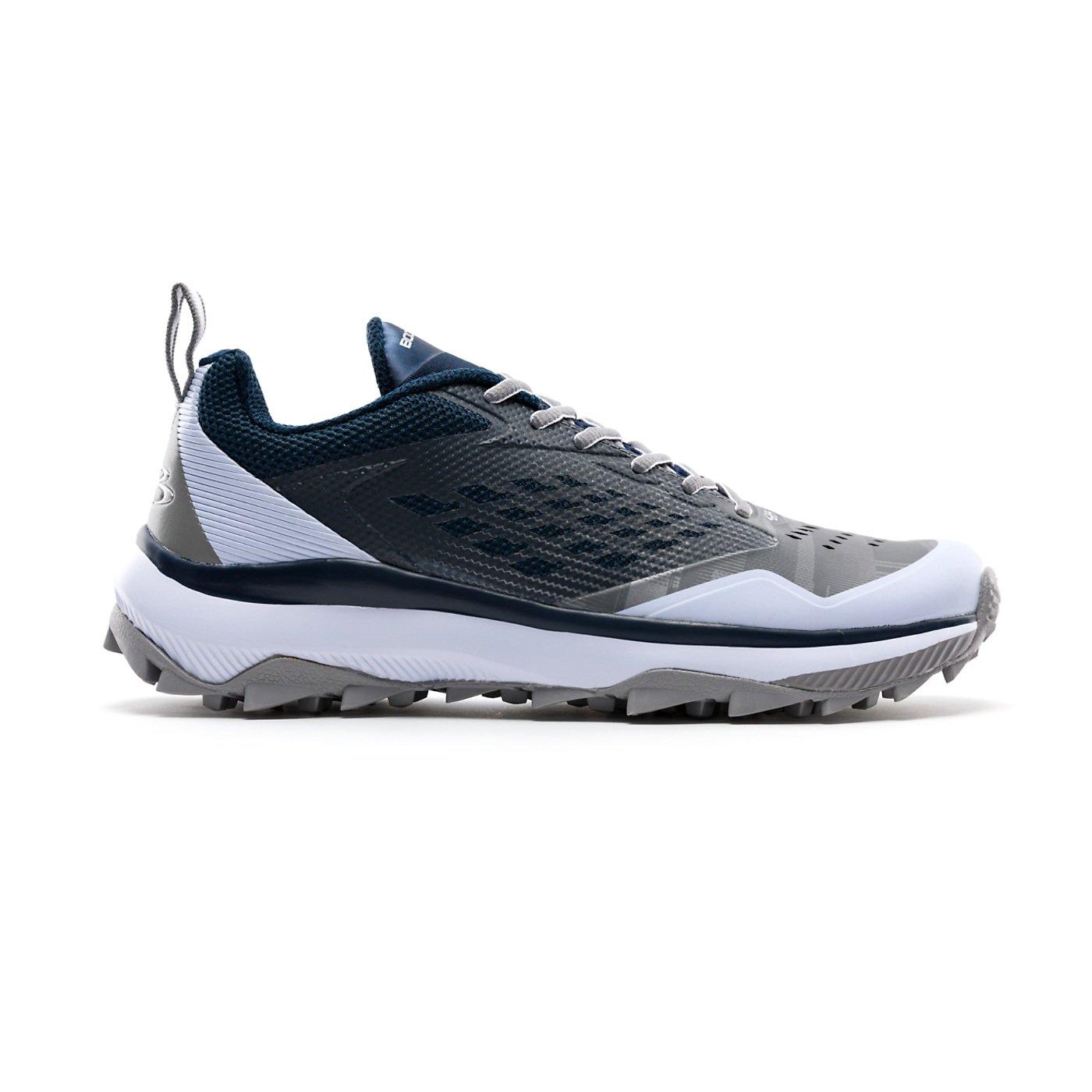 Boombah Men 's Marauder Turf Shoes – 8カラーオプション – 複数のサイズ B07C9K8MGY 9 ネイビー/グレー