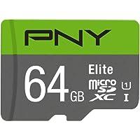 Cartão Memória Micro SDXC 64GB Elite 100MBs PNY