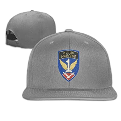 fbc77b51 1st Allied Airborne Fashion Truck Driver Hat Classic Adjustable Baseball  Caps Outdoor Cap at Amazon Men's Clothing store: