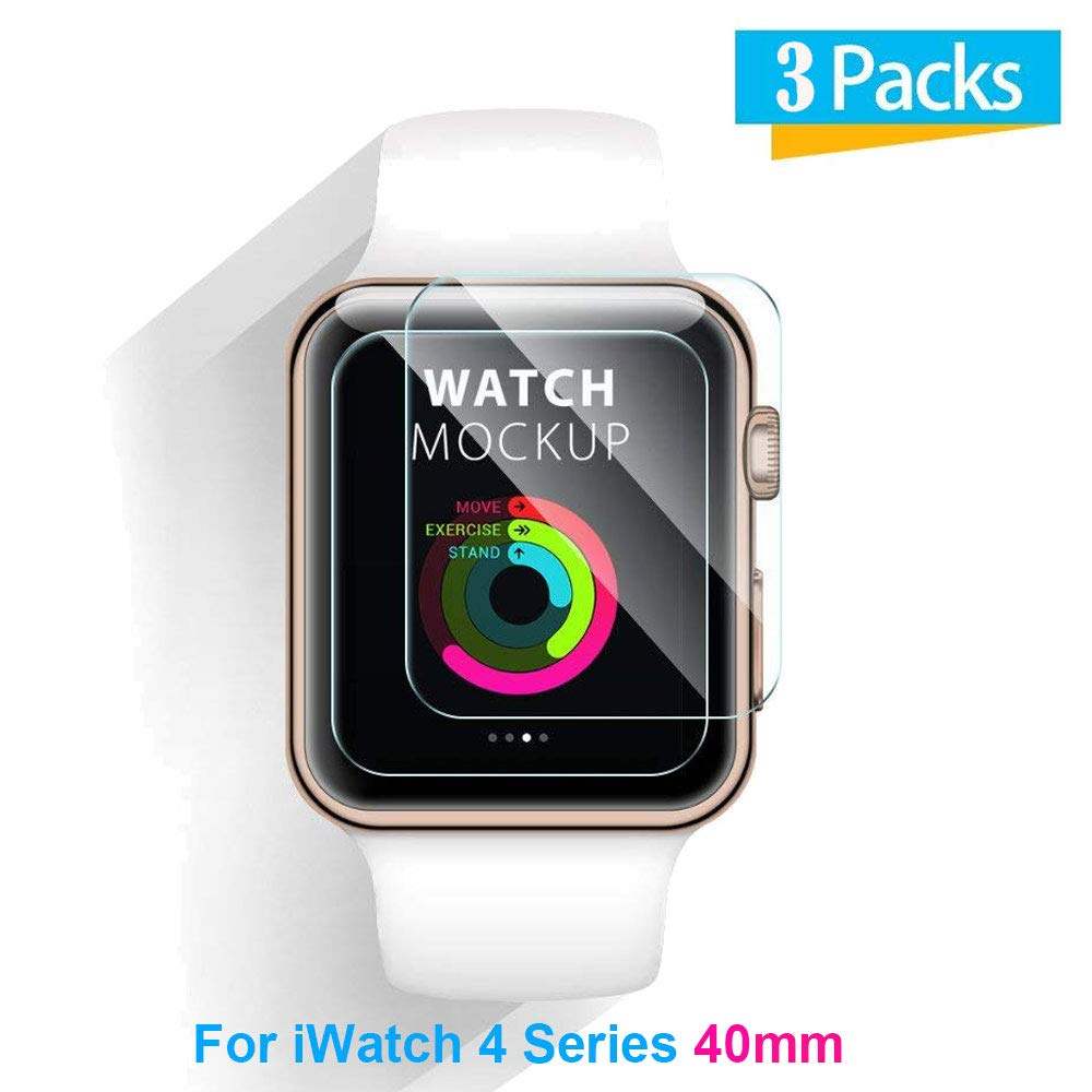 BATOP Apple Watch Screen Protector || for Apple Watch iwatch 1/2/3 38mm 42mm iwatch 4 40mm 42mm Tempered Glass Screen Protector Clear Anti Scratch ...