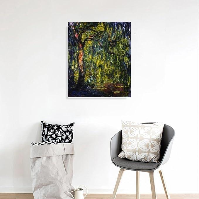 JH Lacrocon Claude Monet - Lirios De Agua (Reflejo De Un Sauce ...
