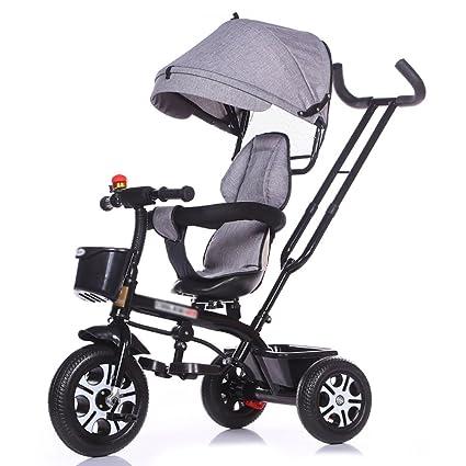 Triciclos- Bicicleta niños 1-3-5 años de Edad Carro de bebé ...