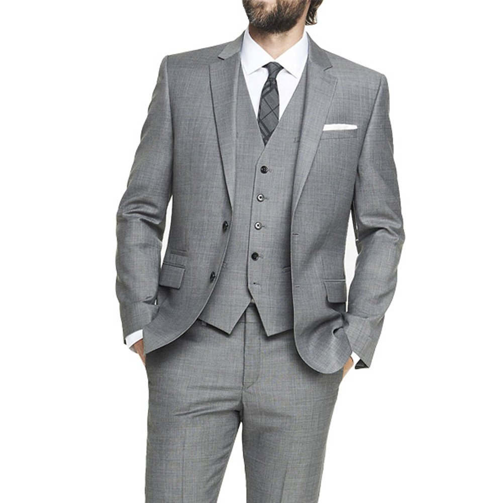 CMDC Men's Cheap Custom Services Business Three-Piece Suit D224