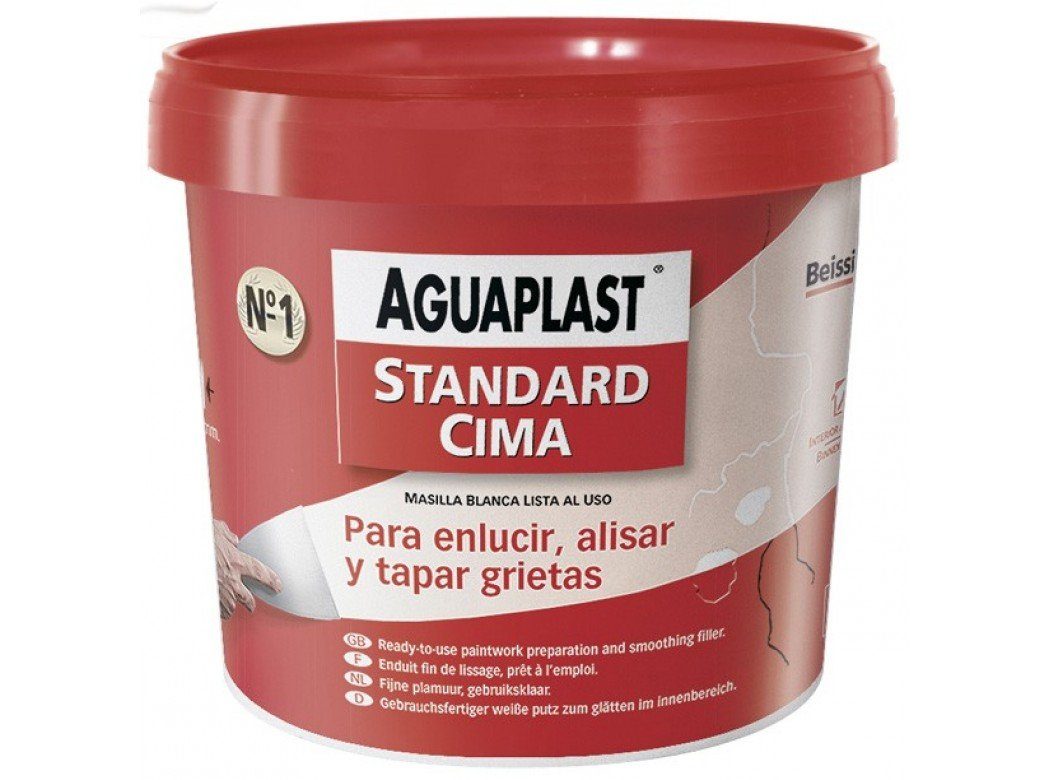 Beissier M107334 Stucco standard Aguaplaststandard, secchio da 500 g secchio da 500g