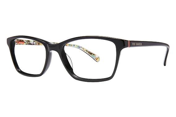 Amazon.com: Ted Baker B723 Womens Eyeglass Frames - Black: Clothing
