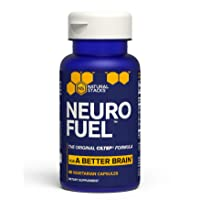 Natural Stacks NeuroFuel™ Brain Supplement 45 ct. - Daily Focus, Memory and Motivation...