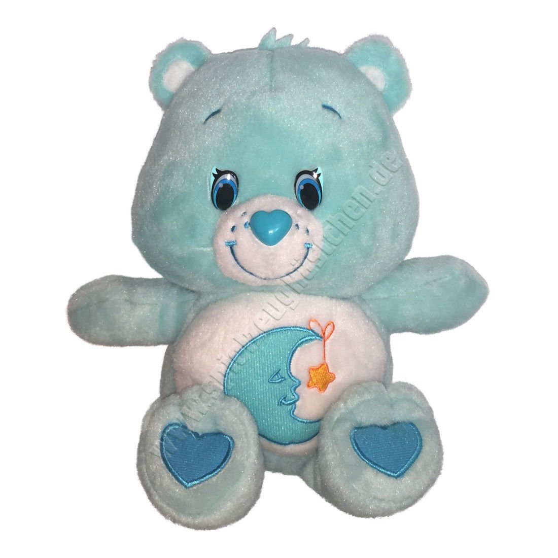 Vintage Care Bears Blue Bedtime Bear Plush Soft Toy 12"
