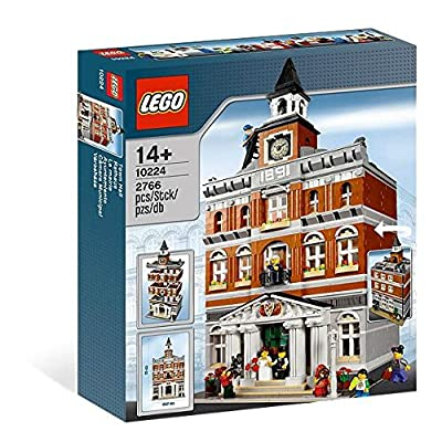 LEGO Creator 10224 Town Hall (Discontinued by manufacturer): Toys & Games