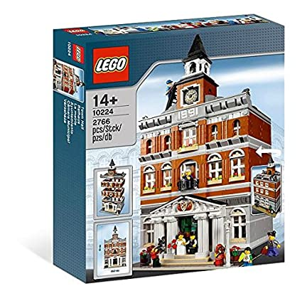 Amazon Lego Creator 10224 Town Hall Discontinued By