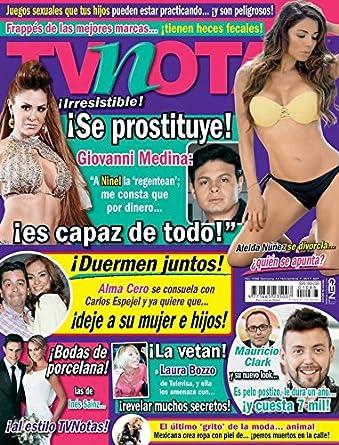 TvNotas November 7, 2017 issue. by Editorial Notmusa SA DE CV