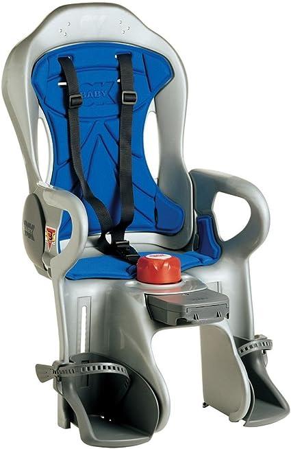 OK Baby Fahrrad Hinterrad-Kindersitz Ergon Blau