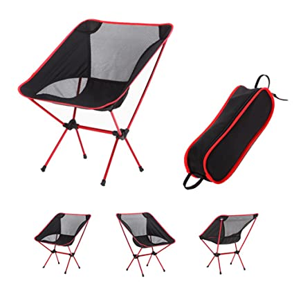 ParaCity ligero portátil silla de suelo plegable con bolsa ...