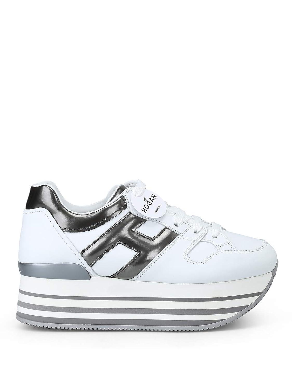 Scarpe Hogan Sneakers Maxi H222 HXW2830T548JDS4999 Bianco Donna ...